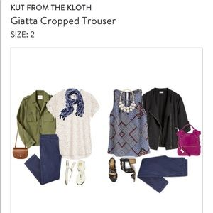 Kut from the Kloth cropped trouser